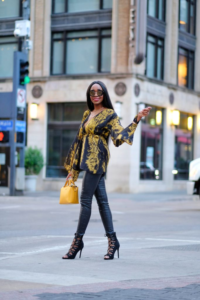 Be a Stiletto in a Room Full of Flats by popular Dallas fashion blogger Foreign Fresh & Fierce