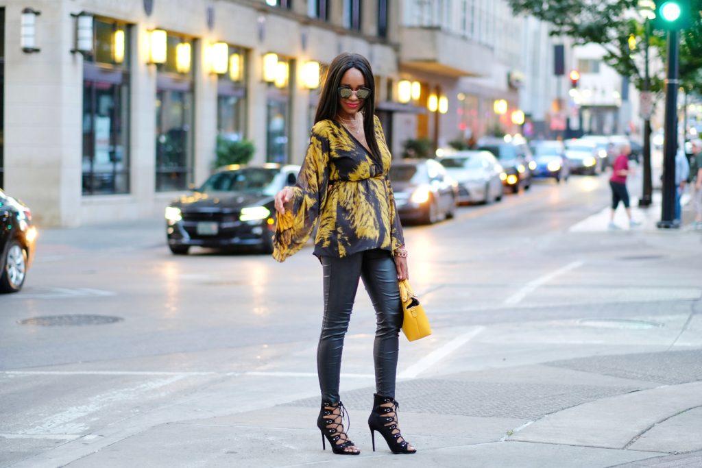 fall fashion bell sleeves