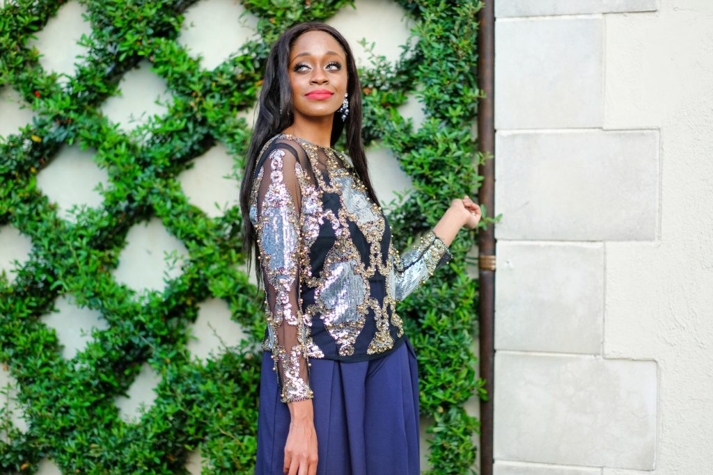 Metallic Trend Inspiration by Dallas style blogger