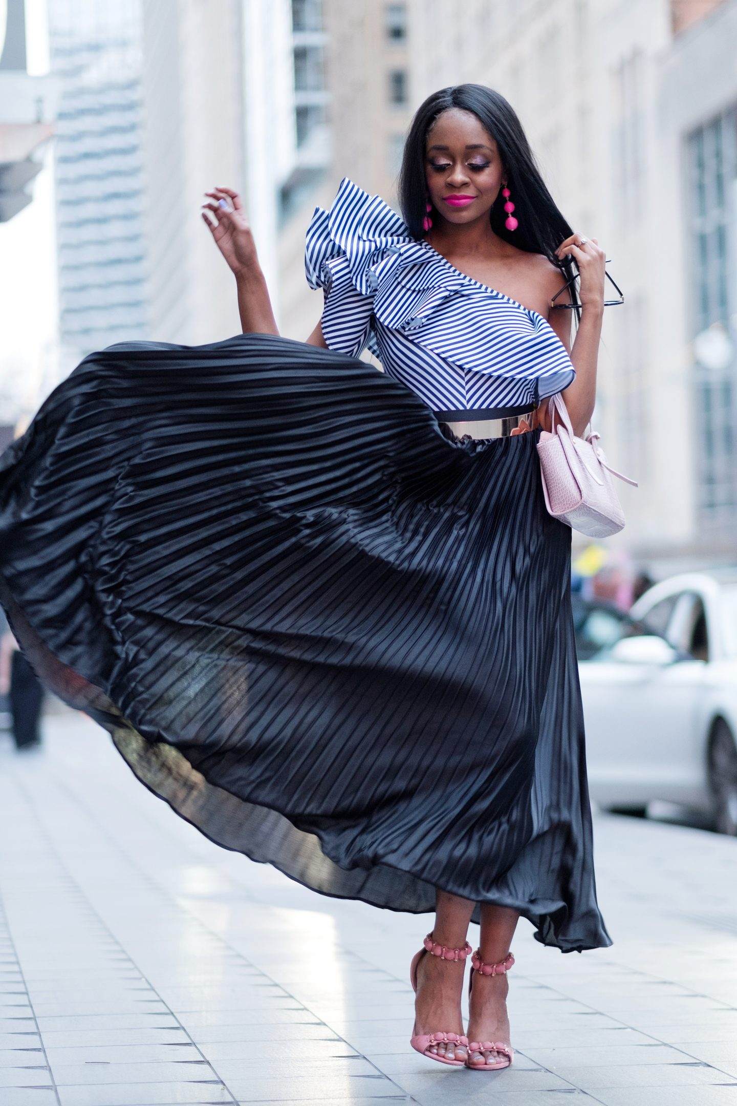 Spring wardrobe - How to Transition Your Winter Wardrobe to Spring by popular Dallas fashion blogger Foreign Fresh & Fierce