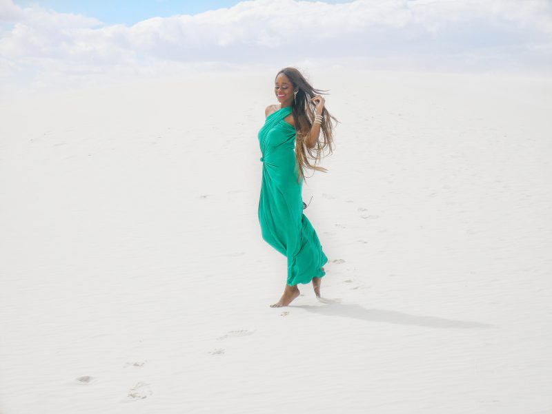 hipknotie white sands new mexico - Things To Do in White Sands NM by popular Dallas travel blogger Foreign Fresh and Fierce