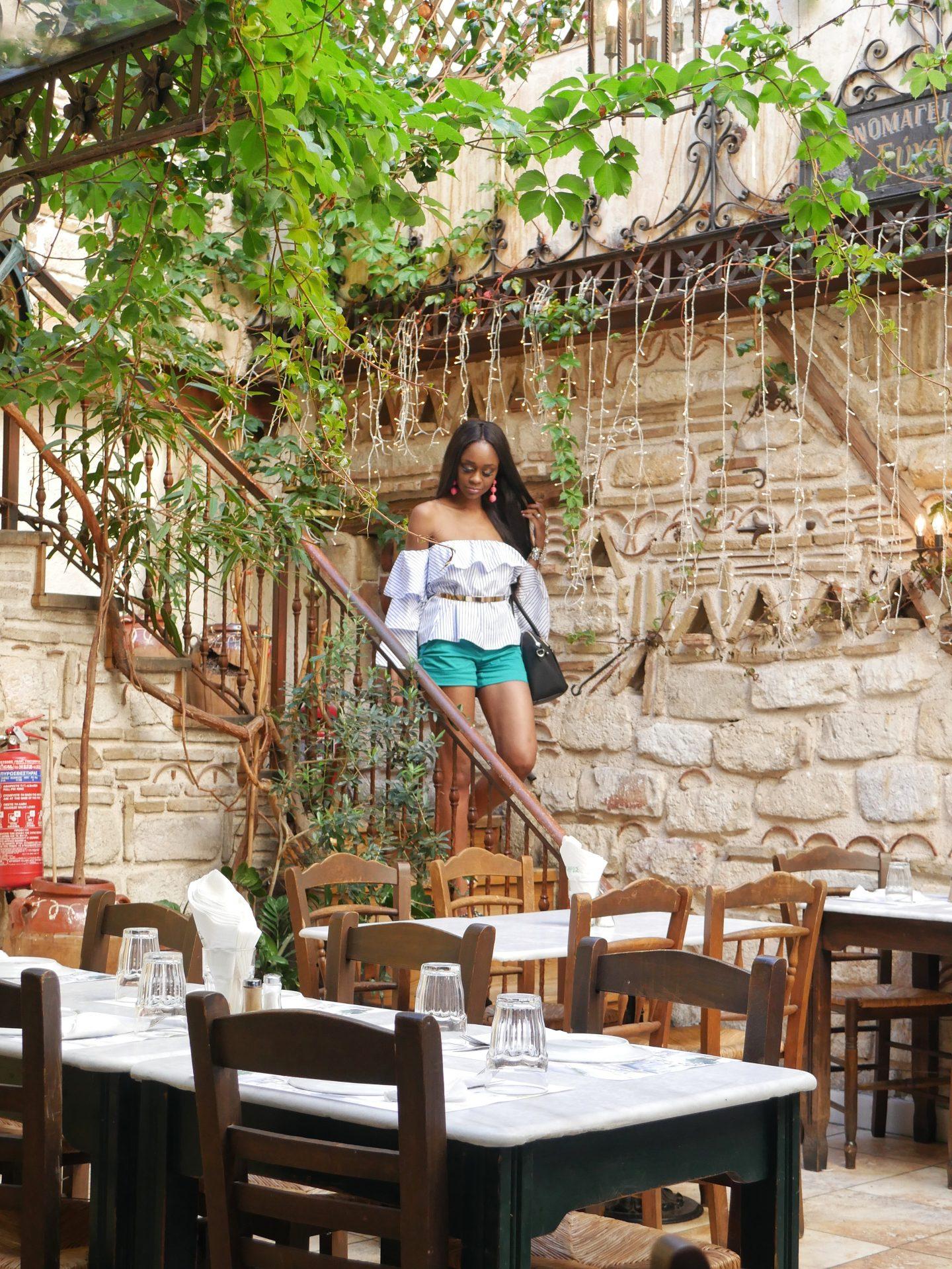 Athens Greece Eyxapie Efcharis restauarant