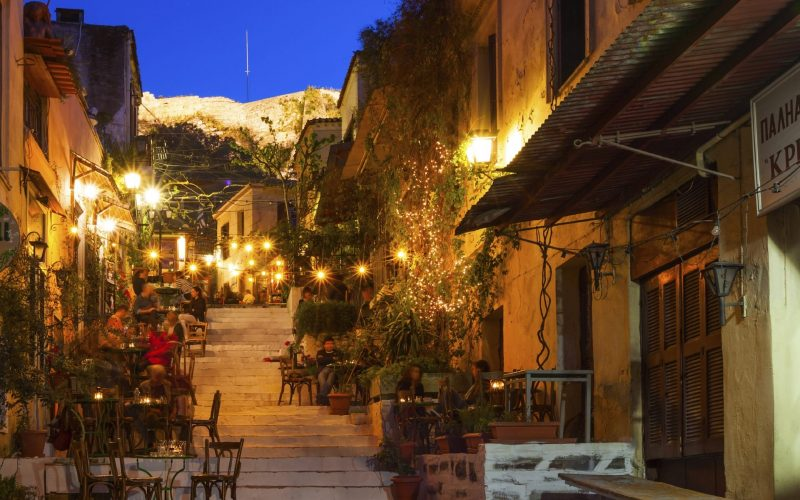 Anafiotika , Athens, Greece, Plaka District