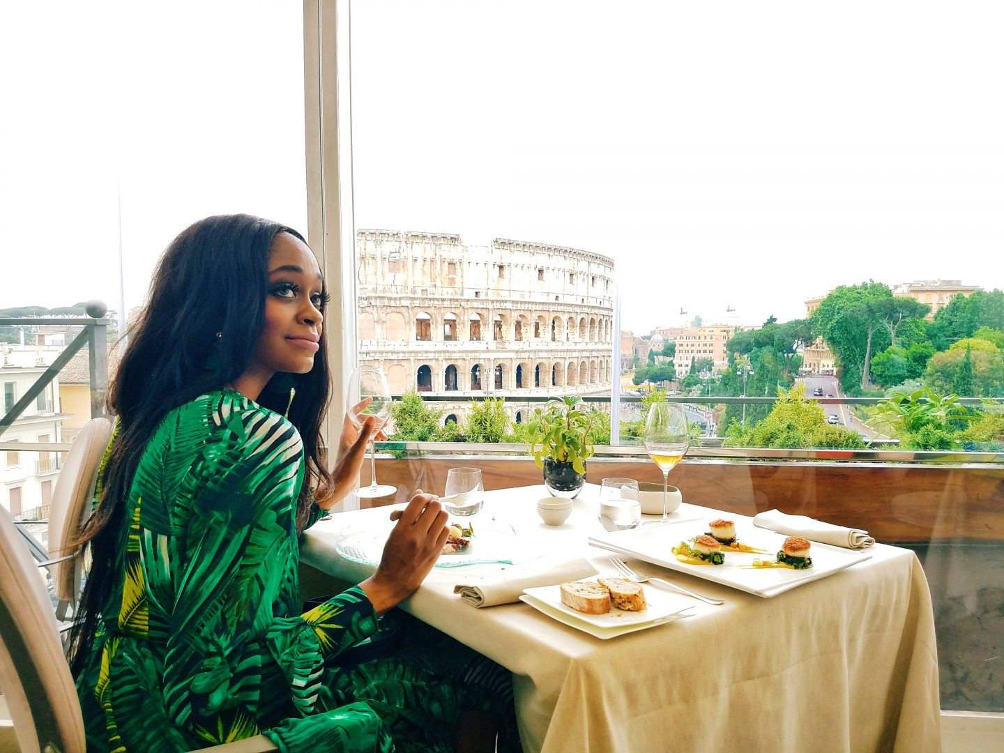 Aroma Restaurant – The Best Rome Restaurant with a View