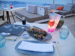 Buddha bar beach lamaltese estate Santorini greece