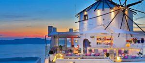 Mylos Bar & Restaurant Firostefani santorini greece
