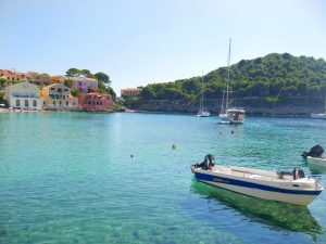 Assos Vilage beach Kefalonia Greece The Most Beautiful Beaches in Greece