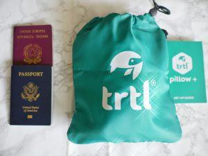 TRTL Pillow neck pillow travel essential
