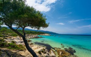 Greece beach Travel Around the World Without a Passport