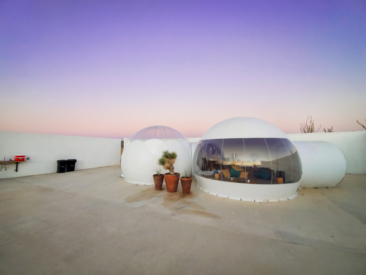 Sleep in a Bubble Hotel in Terlingua Texas Desert