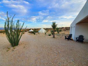 Basecamp Terlingua Sleep in a Bubble Hotel in Terlingua Texas Desert